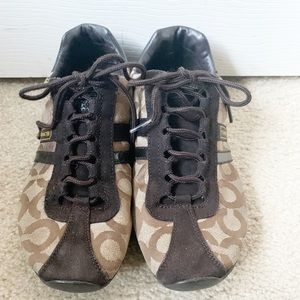 Coach Kathleen Brown Sneakers Size 9